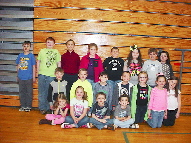 Photo submitted Front Row: Frankie Bowling, Morgan Musgrove, Ayden Wilson and Lucas Strunk. Middle: Keegan Musgrove, Avery Bruce, Brokiah Kilby, Gavin Hailey, Laurel Richardson, Allison Watters and Lilly Howard. Back Row: Caleb Cole, Levi Privett, Jacob Neal, Terra Gaertner, Devon Daugherty, Abbie Roberts, Slade Slaven and Ava Stephens.