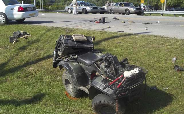 Two dead in ATV collision