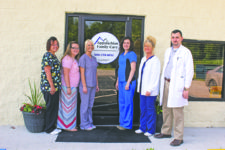 The staff of Appalachian Family Care in Pine Knot is pictured with Nurse Practitioner Dustin Hamlin.