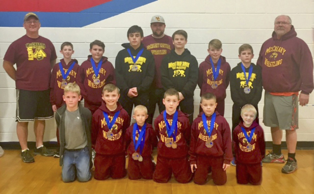 Elementary Wrestling State Competition