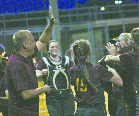 Staying Alive – Lady Raiders top Wayne in District Tournament